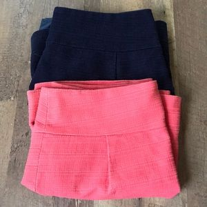 TWO J crew skirts